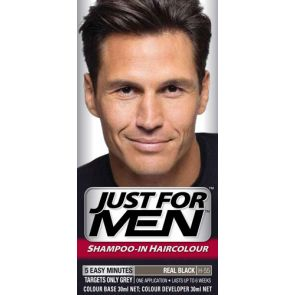 Just For Men Hair Colour Natural Real Black