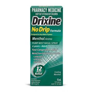 Drixine No Drip Menthol 15Ml
