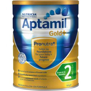 Aptamil Gold+ 2 Follow-On 6-12 Months 900G