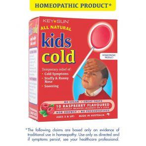Kids Cold Raspberry Lollipops 10