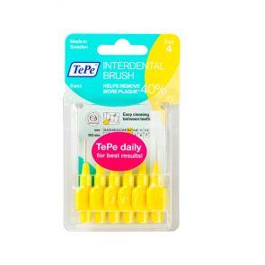 Tepe 0.7Mm Yellow Interdental Brushes 6