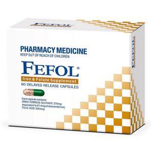 Fefol Spansules Capsules 60