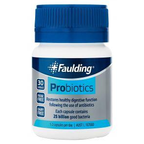 Faulding Probiotics Capsules 30