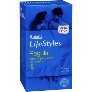 Ansell Lifestyles Regular 24