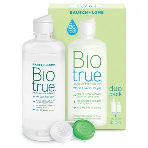 Bausch & Lomb Biotrue Duo Pack 300Ml+120Ml