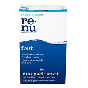 Bausch & Lomb Renu Multi Purpose Plus Duo Pack 355Ml+120Ml