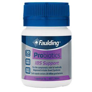 Faulding Probiotics Ibs Support Capsules 30