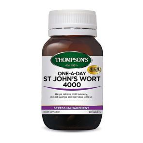 Thompsons St Johns Wort 1 A Day Capsules 60
