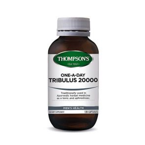 Thompsons Tribulus 1 A Day Capsules 20000Mg 120