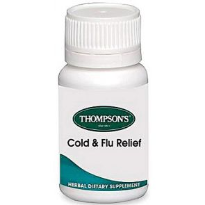 Thompsons Cold & Flu Tablets 24