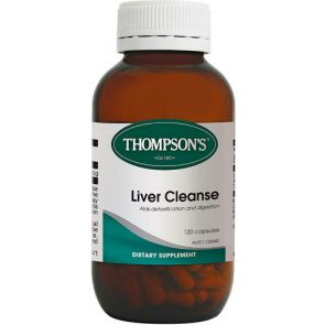 Thompsons Liver Cleanse Capsules 120