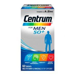 Centrum For Men 50+ Tablets 60