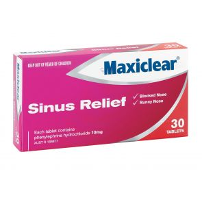 Maxiclear Sinus Relief Tablets 30