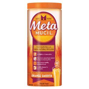 Metamucil Smooth Orange Powder 48 Dose 283G