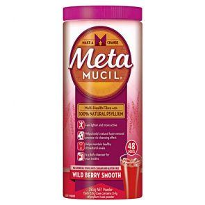 Metamucil Smooth Wildberry Powder 48 Dose 283G
