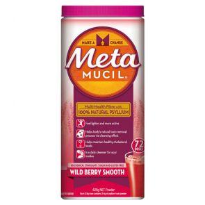 Metamucil Wild Berry 72 Doses 425g