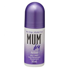 Mum Dry Roll On Active 50Ml