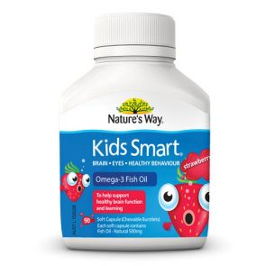 Nature'S Way Kids Smart Strawberry Chewable Tablets 50
