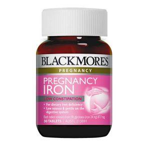 Blackmores Pregnancy Iron Tablets 30