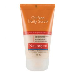 Neutrogena Acne Scrub Oil Free 125Ml