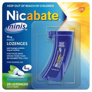 Nicabate Minis 4Mg 20