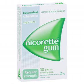 Nicorette Gum Classic  2Mg 30