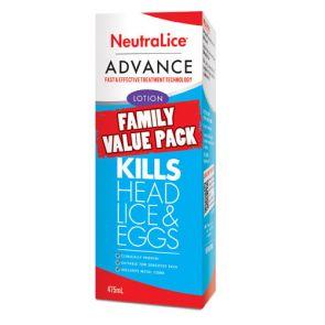 Neutralice Advance Family Value Pack 475Ml