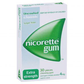 Nicorette Gum Classic  4Mg 30