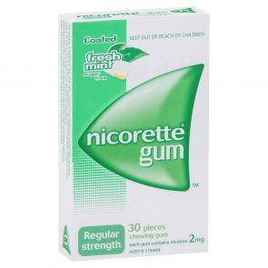 Nicorette Gum Fresh Mint 2Mg 30