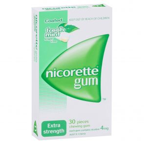 Nicorette Gum Fresh Mint 4Mg 30