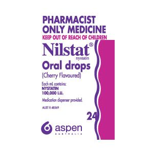 Nilstat Oral Drops 24Ml