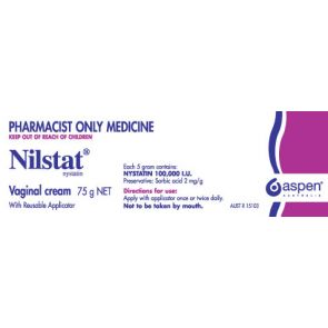Nilstat Vaginal Cream 75G