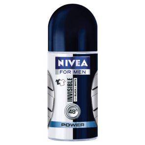 Nivea Men Black & White Invisible Anti-Perspirant Roll-On 50Ml