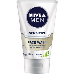 Nivea Men Face Wash Sensitive 100Ml