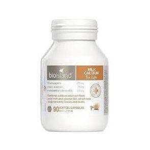 Bio Island Milk Calcium Kids Capsules 90