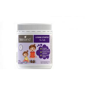 Bio Island Lysine Starter For Kids Oral Powder 150G