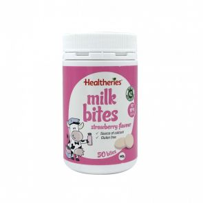 Healtheries Milk Bites Strawberry 50 Bites 190G