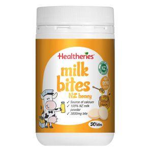 Healtheries Milk Bites New Zealand Honey 50 Bites 190G