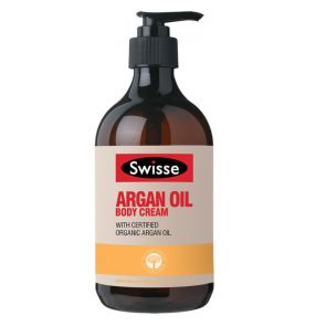 Swisse Argan Oil Body Cream 500Ml