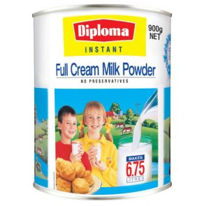 Diploma Instant Full Cream Milk Powder 900G