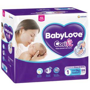Babylove Cosifits Jumbo Newborn 99