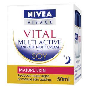 Nivea Vital Soja Night Cream 50Ml