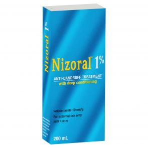 Nizoral Anti-Dandruff Shampoo 1% 200Ml