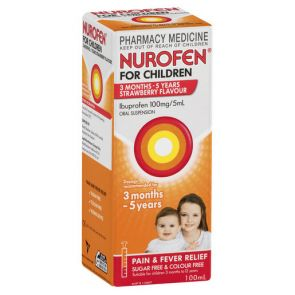 Nurofen For Children 3 Months-5Yrs Strawberry 100mL