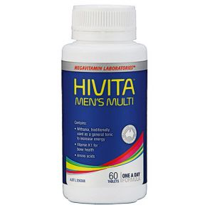 Hivita Mens Multi Tablets 60