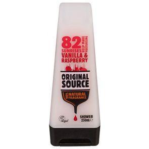 Original Source Shower Gel Vanilla & Rasberry 250Ml