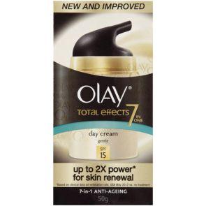 Olay Total Effects  Fragrance-Free Moisturiser Uv 50Ml