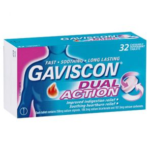 Gaviscon Dual Action Tablets 32