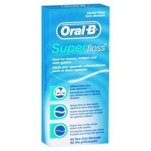 Oral B Super Floss 50M