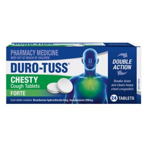 Duro-Tuss Chesty Forte Tablets 24